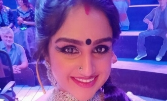Vanitha Vijayakumar's latest video from makeup room
