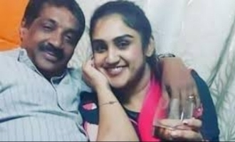 Vanitha Vijayakumar reveals identity of elderly man with her in photo