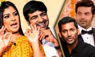 Varalakshmi's Punishment to Arya & Vishal : Hilarious Interview