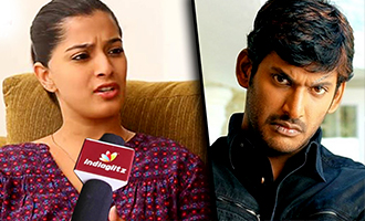 I became a villi for Vishal : Varalakshmi Sarathkumar Interview