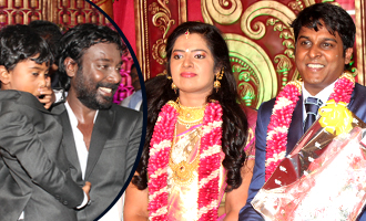 Vasanthakumar son receiption photos