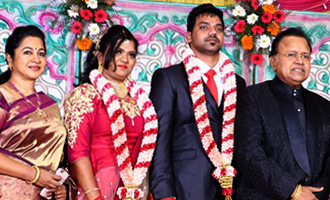 Actor Vasu Vikram's Daughter Vasugi Wedding Reception Stills