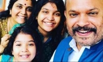 Venkat Prabhu's daughter's adorable b'day celebration pics out