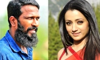 Trisha's unseen stills from Vetrimaaran's movie goes viral