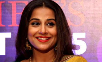 Vidya Balan at JFW Press Meet