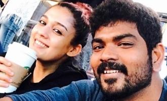 Vignesh Shivan - Nayanthara's unseen romantic moment turns viral!