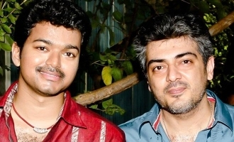 Ajith in favourate Vijay movie song