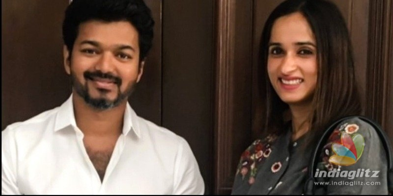Thalapathy Vijays memorable gift to Archana Kalpathi