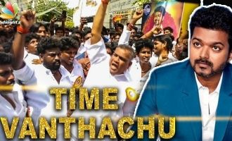 Time has come to become CM: Vijay Fans Celebration