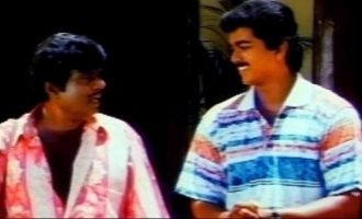 When Thalapathy Vijay met Goundamani's mother - pic goes viral