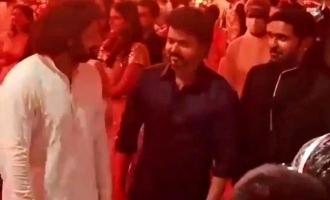 Jayam Ravi meets Thalapathy Vijay - Video goes viral