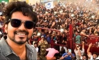 Thalapathy Vijay selfie the most retweeted tweet in 2020 Master shooting IT raid