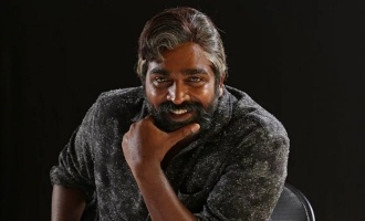 Makkal Selvan's unique look!