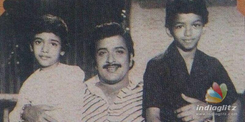 Vijay and Suriyas awesome childhood photo with Sivakumar goes viral