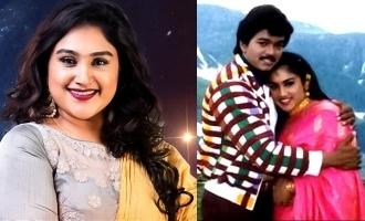 Vijay's cute photos with Vanitha Vijayakumar's son turns viral!