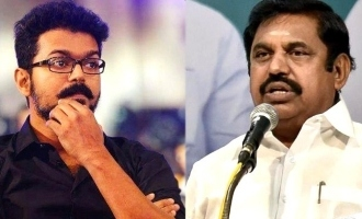 What did Vijay tell him during the meeting - CM Edappadi Palanisamy reveals!