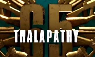 Thalapathi 65 announcement by sun pictures