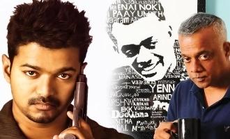 Gautham Vasudev Menon opens up about next movie with Vijay!