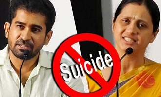 Vijay Antony and Devayani about Ashok Kumar death