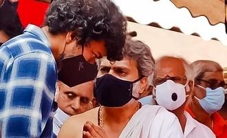எஸ்பிபிக்கு இறுதியஞ்சலி செலுத்திய தளபதி விஜய்!