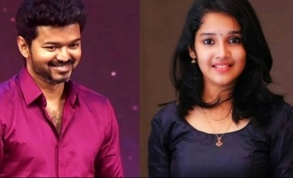 'Viswasam' Anikha's cute tribute to Thalapathy Vijay