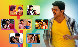 Vijay movies with dual Heroines before 'Mersal'