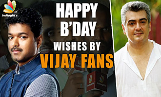 Ilayathalapathy Vijay fans Birthday Wishes to Thala Ajith