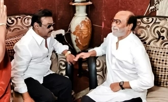 Superstar Rajnikanth makes a call to enquire about Vijayakanth's health!