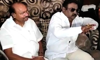 Today PMK Dr Ramadoss meet vijayakanth