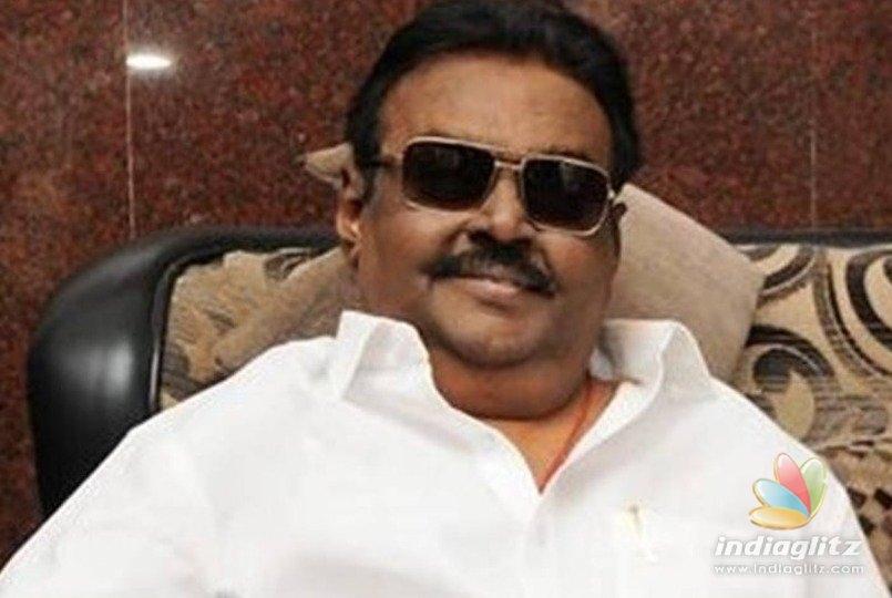 Captain Vijayakanths first video interview after health treatment