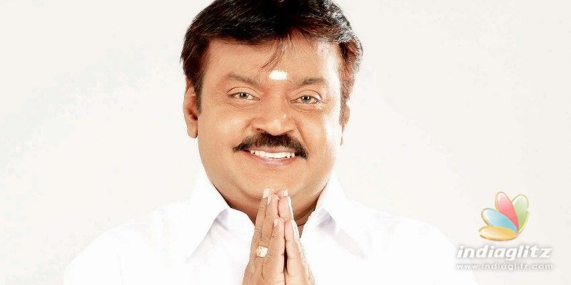 Vijayakanth announces huge amount for coronavirus relief