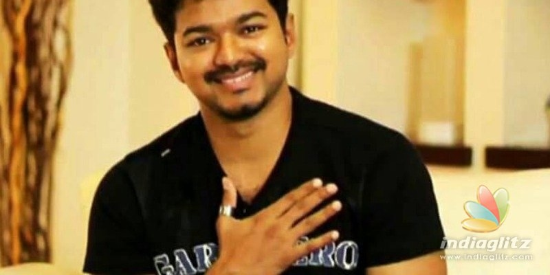 Thalapathy Vijays cute video posted by his close friend to spread positivity