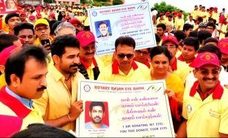 Great Gesture! Vijay Antony donates his eyes