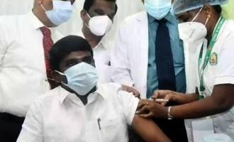 [VIDEO] Tamil Nadu Health Minister Vijayabaskar takes COVID-19 vaccine