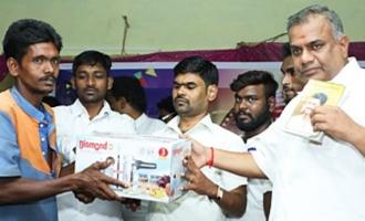 Actor Vijay Online Welfare Club Activity