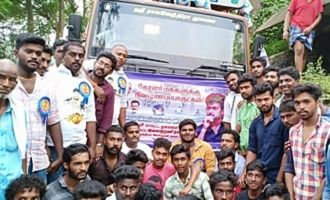 Thalapathy Vijay fans massive help for Kerala Flood victims