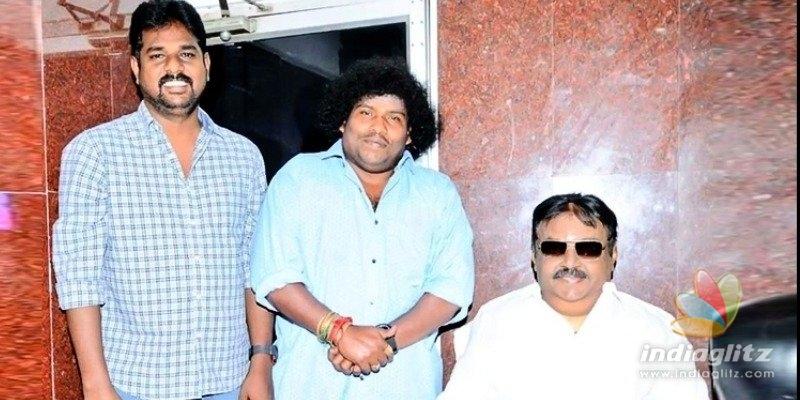 Yogi Babus sudden meeting with Captain Vijayakanth