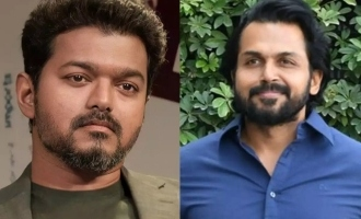 Why Thalapathy Vijay ignored Karthi when he met him today - astonishing details