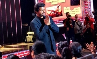 'Master' stars open up and share unknown details at the audio launch