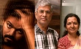 S A Chandrasekhar political party controversy wife Shobha Chandrasekhar statement