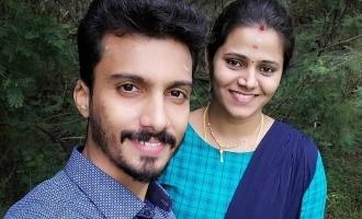 Super Singer Vikram Sai Prasad shares honeymoon photos