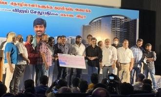 Vijay Sethupathi donates a huge sum for FEFSI