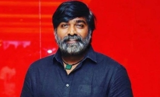 Vijay Sethupathi taking acting lessons from actress surprising video goes viral