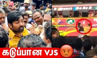 Vijay Sethupathi involved in heated argument with a huge crowd - shooting canceled