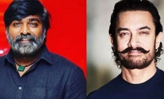 Breaking! Vijay Sethupathi confirms acting with Aamir Khan