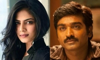 Vijay Sethupathi and Malavika Mohanan reunite for a biggie after 'Master' ?