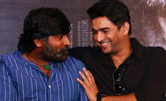 Maddy and Vijay Sethupathi 'Vikram Vedha' in real life too