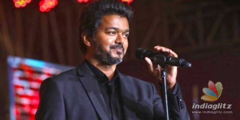 Did Vijay make a strong political statement that was edited in Master audio launch?