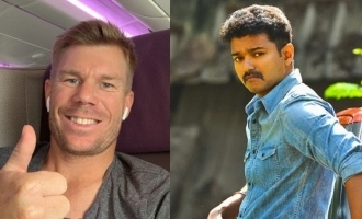 Australian cricketer David Warner swaps faces with Vijay in famous Tamil song; Shares video
