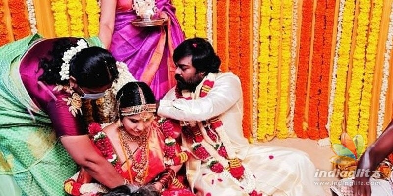 Producer - actor RK Suresh gets married, photos viral!